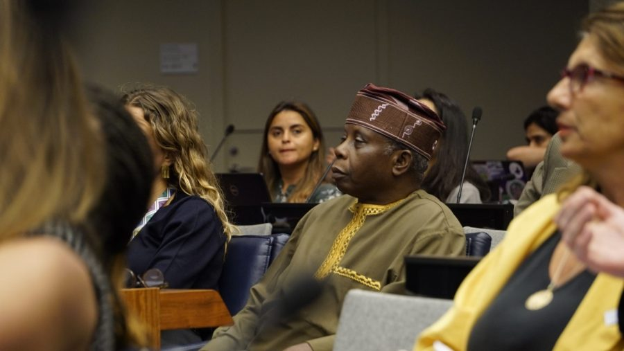 Audience members at the forum. Justin K. Davey, GLF