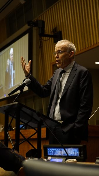 Bill McKibben, founder of 350.org and proliferous writer on climate change. Justin K. Davey, GLF