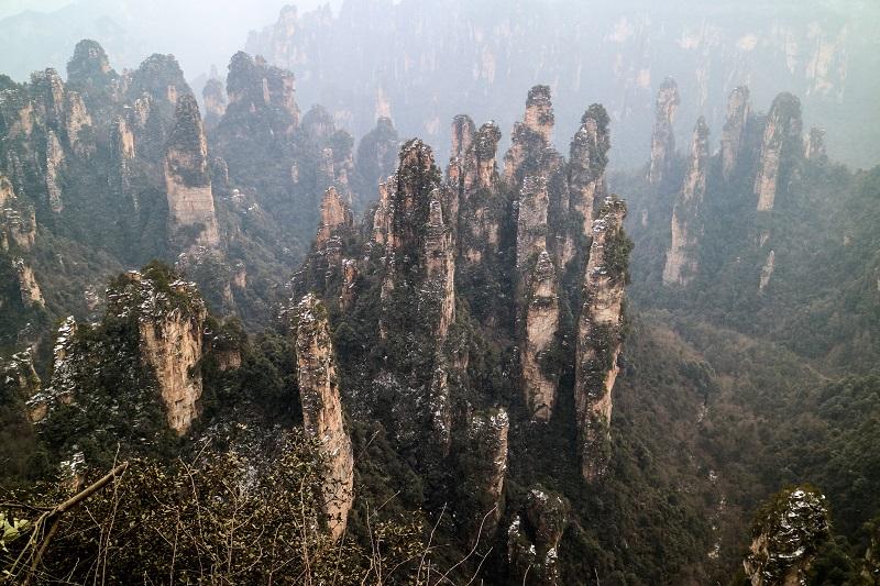 Karst forest, China