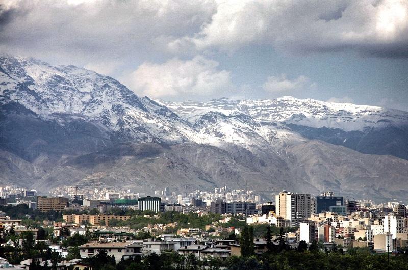 Alborz Mountains, Tehran, Iran