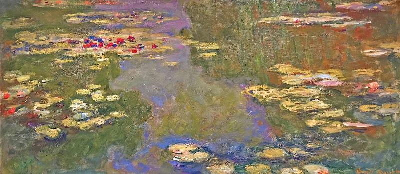 Le Bassin Aux Nympheas by Monet