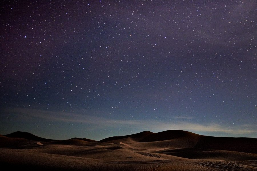 Night in the Moroccan Sahara. Gustaw Jot, Flickr