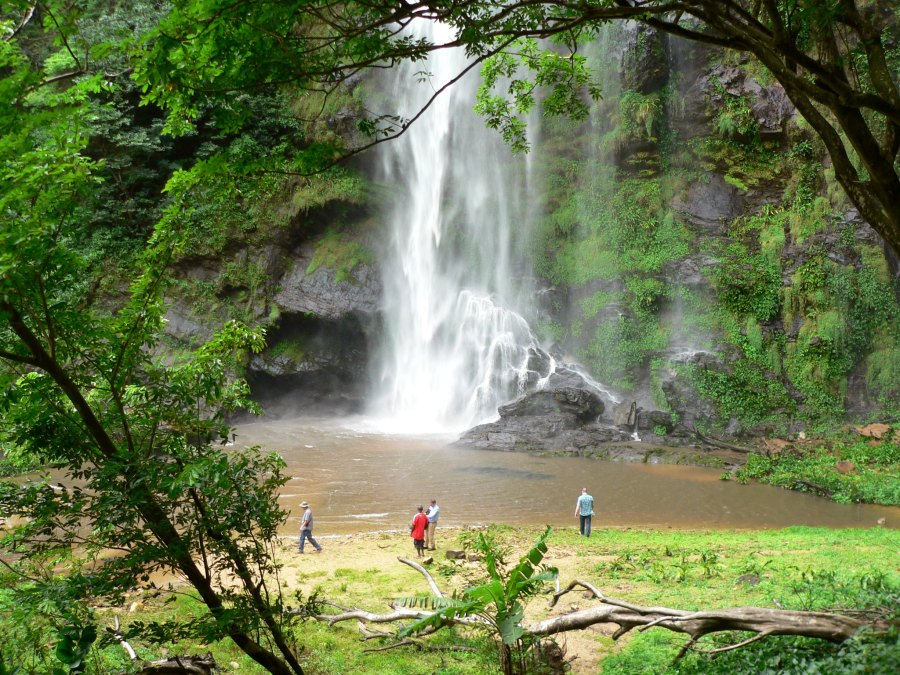 The Wli waterfalls are the highest in West Africa. Stig Nygaard, Flickr