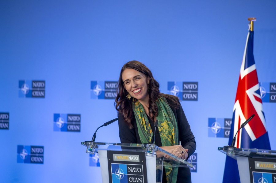 Prime Minister of New Zealand Jacinda Ardern. NATO