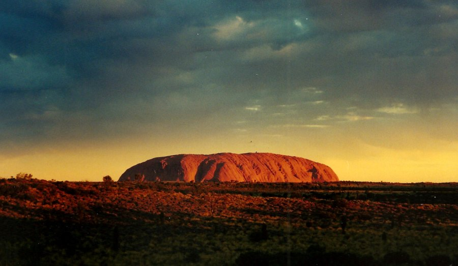 The Northern Territory's sandstone monolith known as Uluru is sacred to Indigenous Australians. Joanna Penn, Flickr