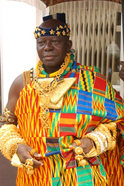 His Royal Majesty Otumfuo Osei Tutu II, King of the Asante Kingdom, Ghana. Courtesy of Manhyia Palace Pictures