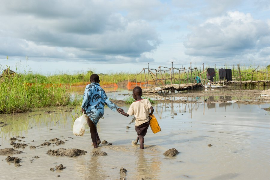 The UN is calling for USD 82 million to address this year's flooding and ongoing humanitarian crisis in South Sudan. Women and children have been affected the most. UN Photo