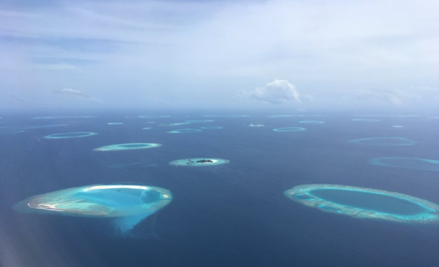 The pandemic has been devastating on the economies of tourism-dependent countries such as the Maldives, which opened its borders fully on 15 July. The archipelago's economy has plunged and food security is threatened. Sergei Gussev, Flickr