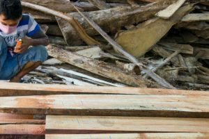 A sustainability-certified sawmill in Jepara, Indonesia. Deanna Ramsay, CIFOR
