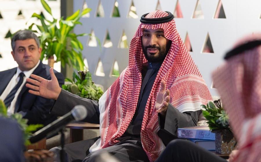 Crown Prince Mohammed bin Salman is the de facto ruler of Saudi Arabia, the world's biggest oil exporter. World Tourism Organization (UNWTO), Flickr