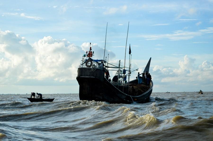 A fishing trawler off the coast of Bangladesh. Mohammad Mahabubur Rahman, WorldFish