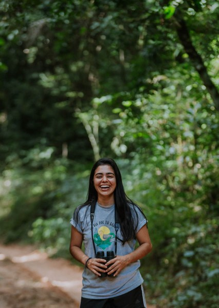 """""""I knew when I was five years old that I wanted to be involved in,"""" says Fabiana Benítez. Courtesy of Trillion Trees"""