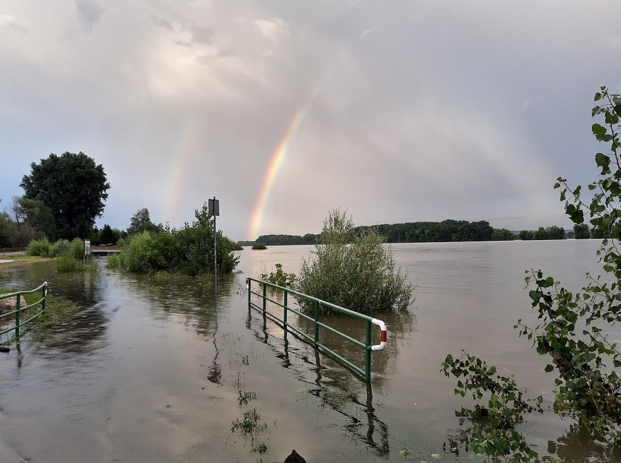 Germany's recent floods, linked to climate change, are the worst in decades. Gerda Arendt, Wikimedia Commons