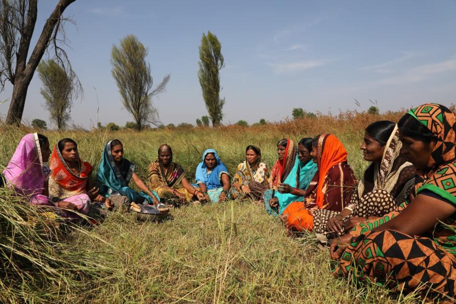 Farmers in Maharashtra, India