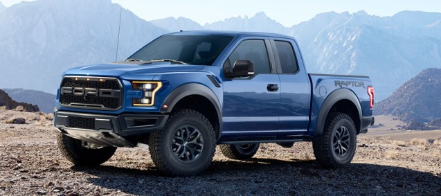 2017 Ford Vehicles