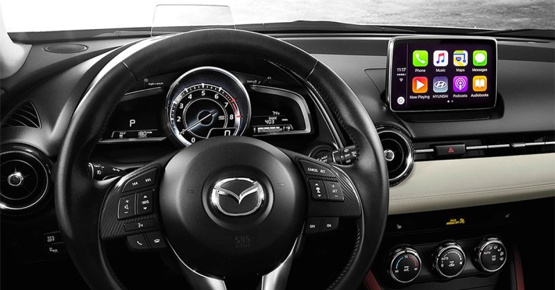 mazda technology mazda is adding apple carplay and. Black Bedroom Furniture Sets. Home Design Ideas