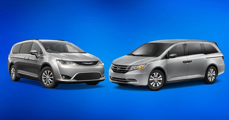 Honda odyssey or chrysler pacifica which is better in for Chrysler pacifica vs honda odyssey