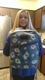 Brad K's daughter made her ruck hers!