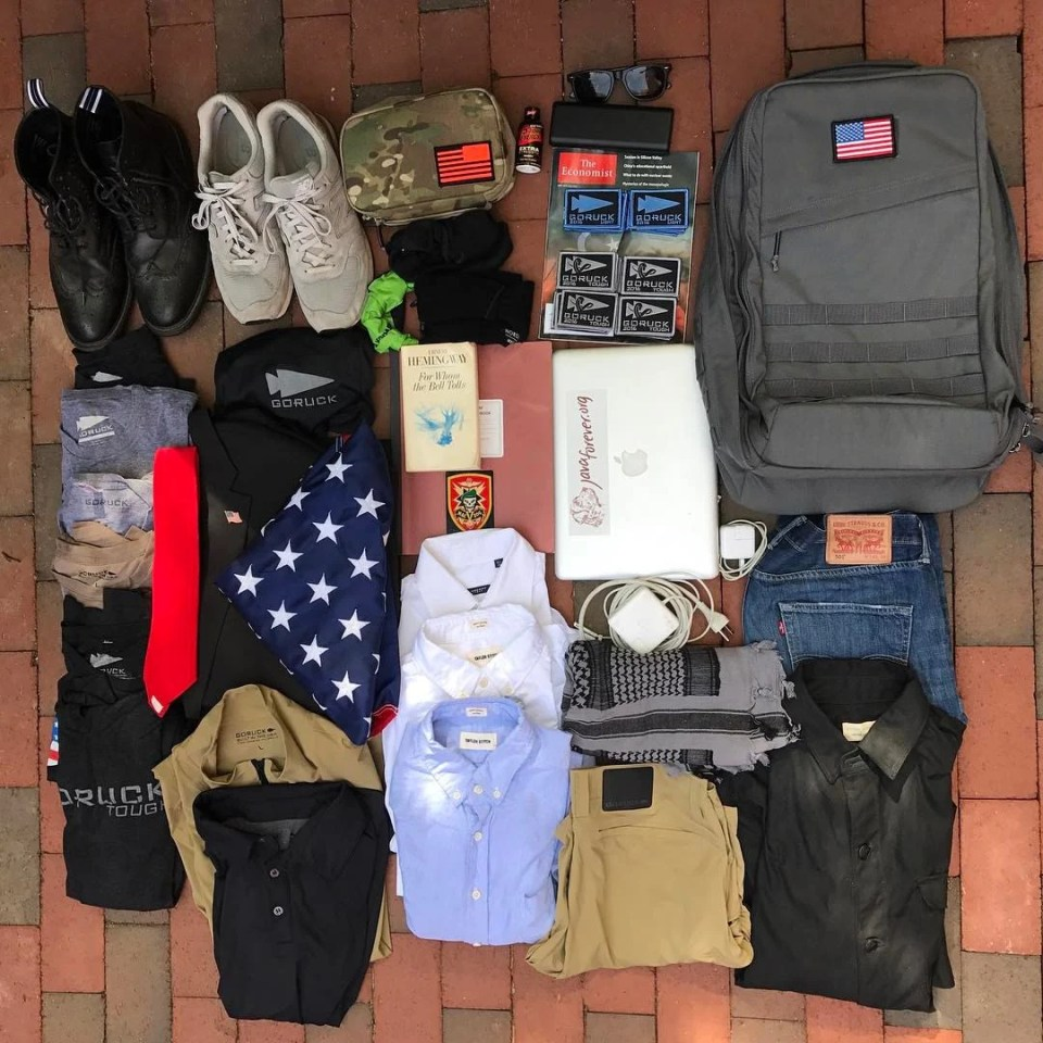 London Bound with GR2, My All Time Fave – GORUCK News