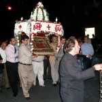 Procession of the Epitaphios on the Feast of the Dormition of Virgin Mary.