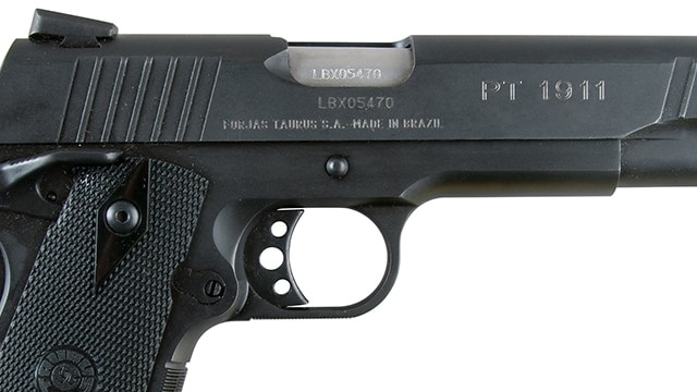 Taurus Expands Series Introduces 45 Acp Commander