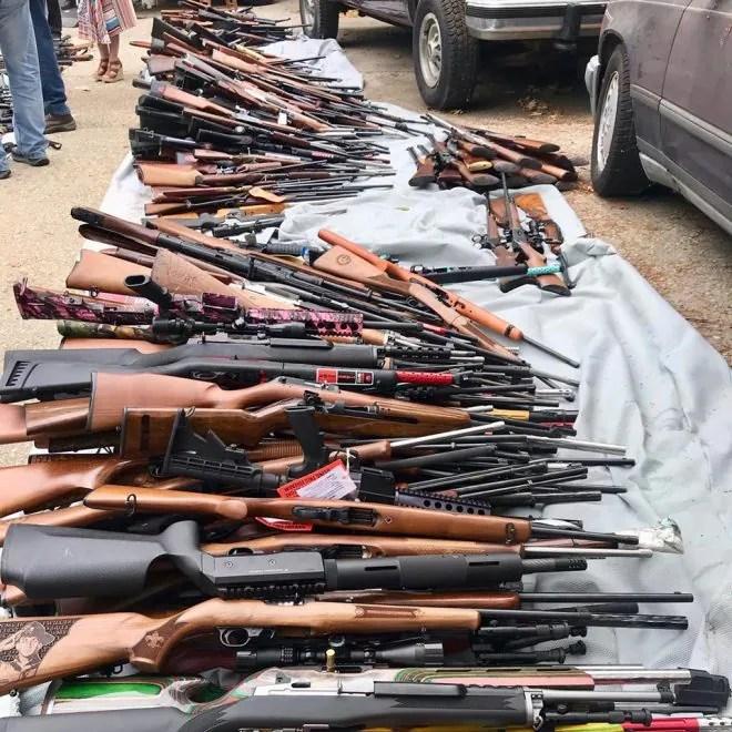 LAPD Impound 1,000 Guns from California Man (PHOTOS) (3)