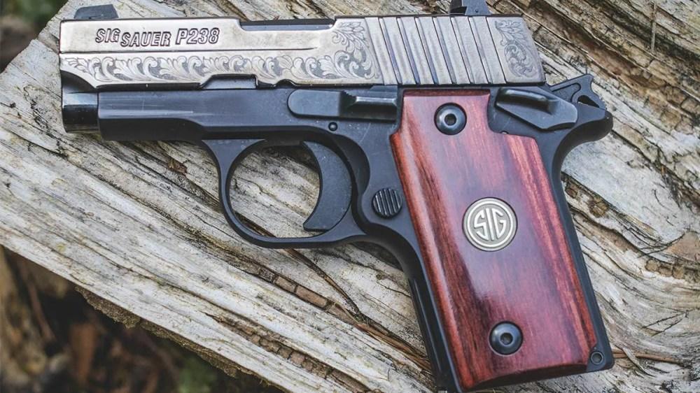 medium resolution of the sig sauer p238 is a 1911 style 380 pistol photo jacki billings guns com