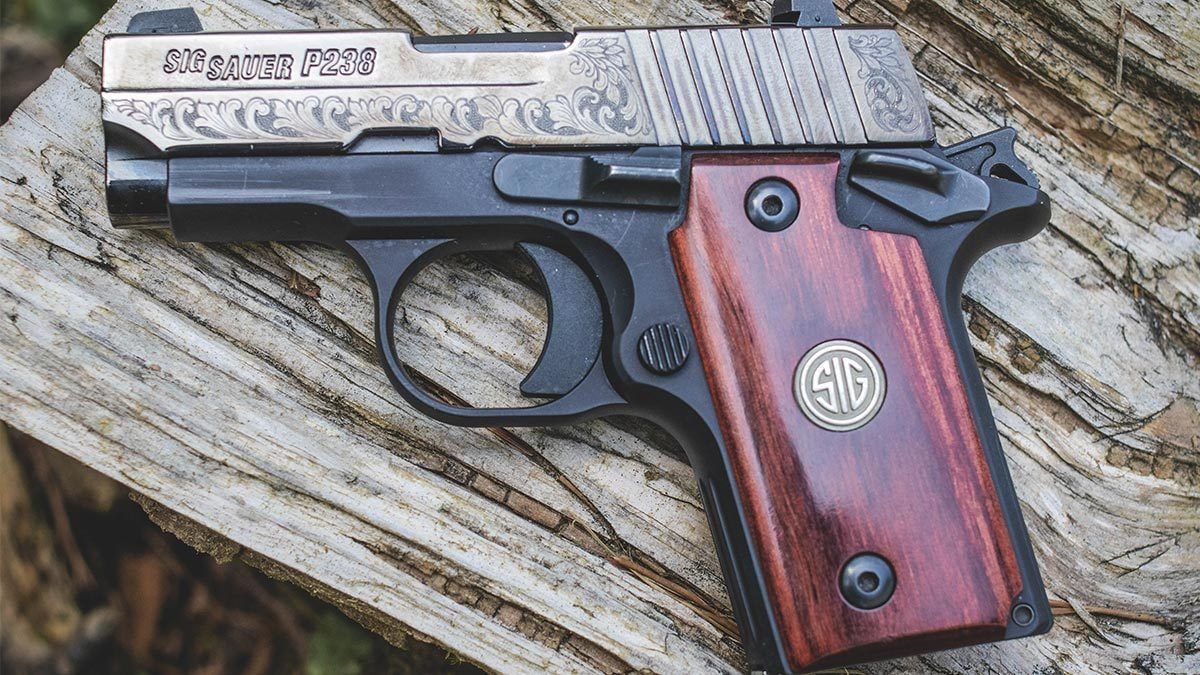hight resolution of the sig sauer p238 is a 1911 style 380 pistol photo jacki billings guns com