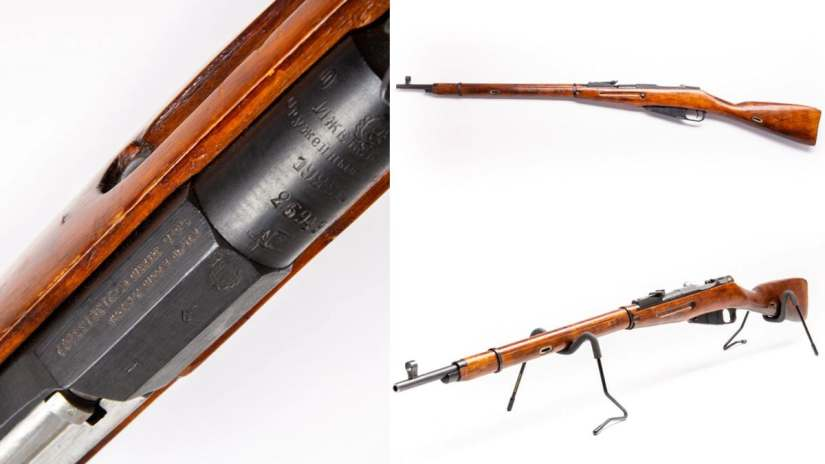 How about this 1922-produced Izhevsk model, showing off an early hex receiver. May want to grab it now. (Photo: Guns.com)
