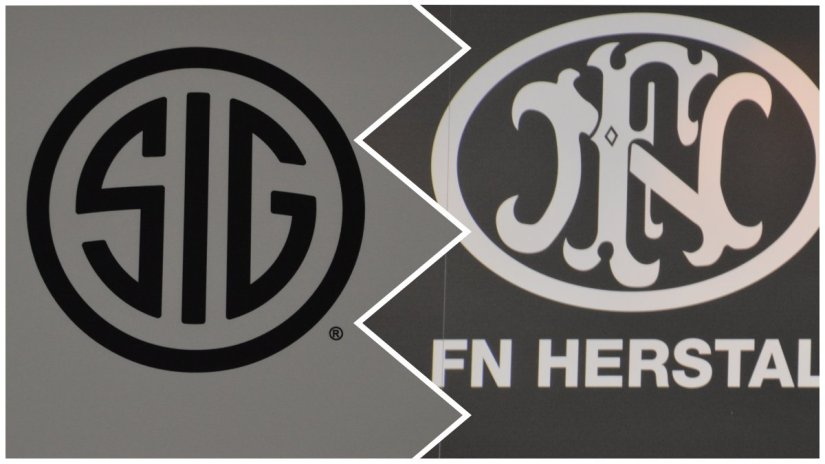 Sig Sauer and FN have both gotten the nod from Pentagon purchasing agents as winners of contracts worth over $9 million each. (Photos: Chris Eger/Guns.com)