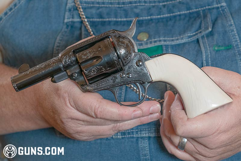 """Colt Single Action Army """"Sheriff's Model"""" in .44 Special."""