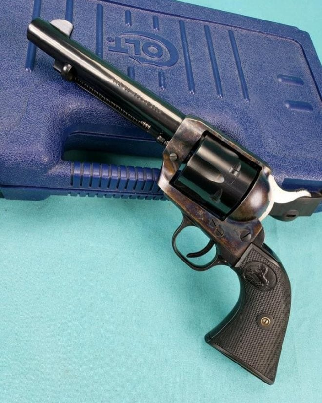 You wouldn't think the Colt Single Action Army would see so much use against Soviets and their Latin American commie allies, but it does (Photo: Colt)