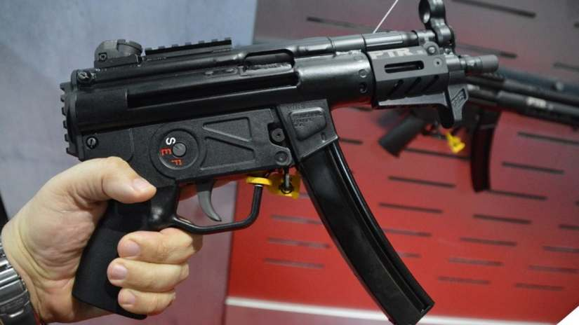 PTR 9KT, a semi-auto send up of the HK MP5K.