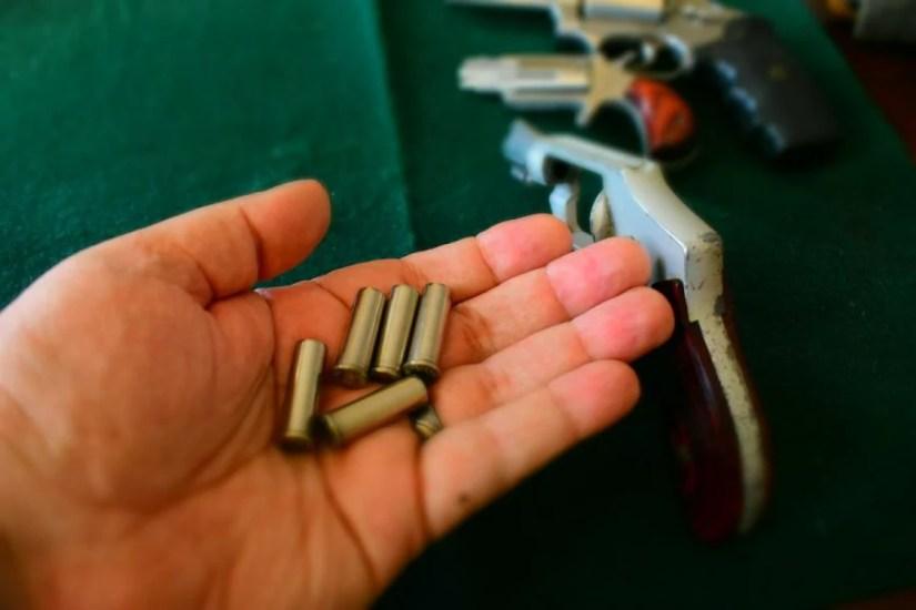 revolver unloaded