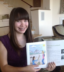 Stone Soup Children's Magazine Publishes Eighth Grader's Award-Winning Story