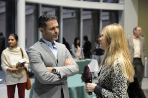 Khaled Hosseini Meets Guests at Book Signing Prior to Speaking to Hundreds Gathered at Harker Speaker Series