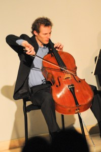 Cellist Baeverstam Closes Third Concert Series Season with Challenging, Impassioned Performance