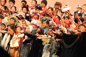 Grade 2 Ogres Bring Fairy Tale Characters to Life in Annual Awards Show