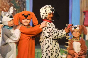 Kindergartners Live the Dog's Life in Series of Shows