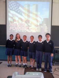 Moving 9/11 Assembly Led by Grade 7 Students Educates Peers on Importance of Remembering