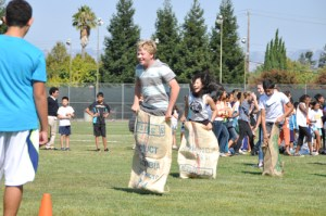 Middle School Students Get Picnic Field Games Preview at Harker Harvest Hootenanny