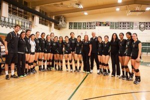 Thrilling Comeback Win in Quarterfinals Sends Varsity Volleyball to CCS Semifinals!