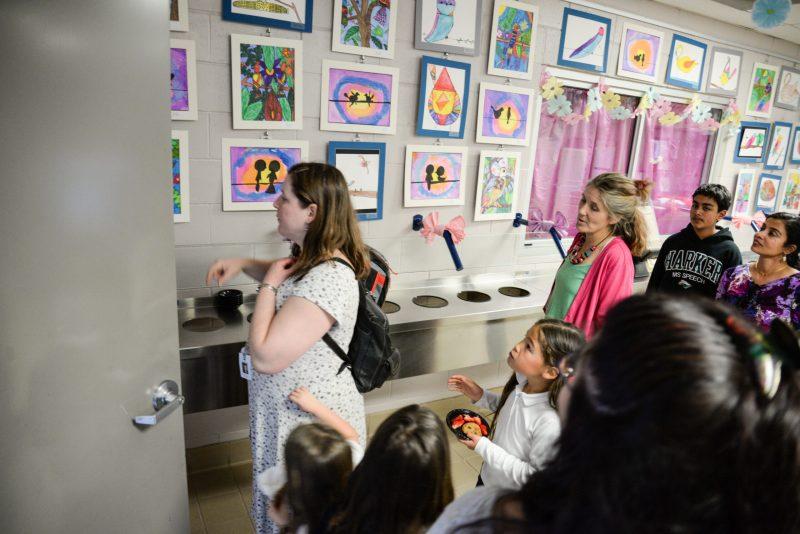 Lower School Art Show Celebrates Creative Work of Entire Campus