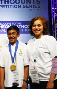 Harker Student Joins Fellow Californians in National MathCounts Triumph!