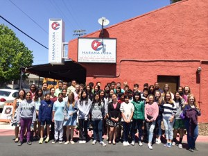 Grade 8 Foreign Language Students Enjoy Cultural Cuisine During Restaurant Field Trips