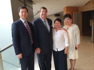 Alumni Families Help Sponsor ELI Receptions Around the World