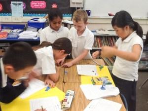 Grade 3 Students Put Math Skills to Use with Innovative BizWorld Program