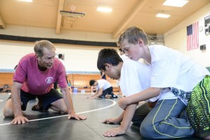 Wrestling Camp Brings Great Coaches, Enthusiastic Wrestlers Together
