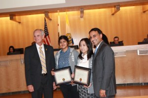 [UPDATED] Students Receive Mayoral Commendation for Success in Google Science Fair