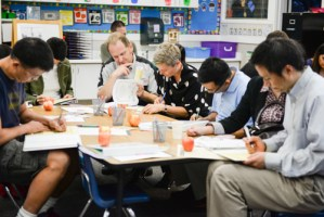 Kindergarten Parents Experience First Back-to-School Night at the Lower School